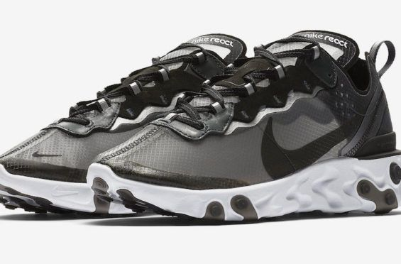 f0ba6057fee3 Release Date  Nike React Element 87 Black White The Nike React Element 87  is a
