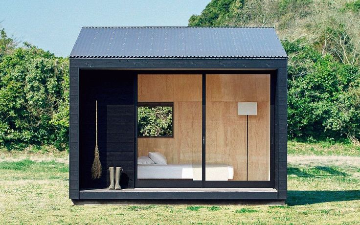 MUJI Unveils The Tiniest Minimalist House We've Ever Seen
