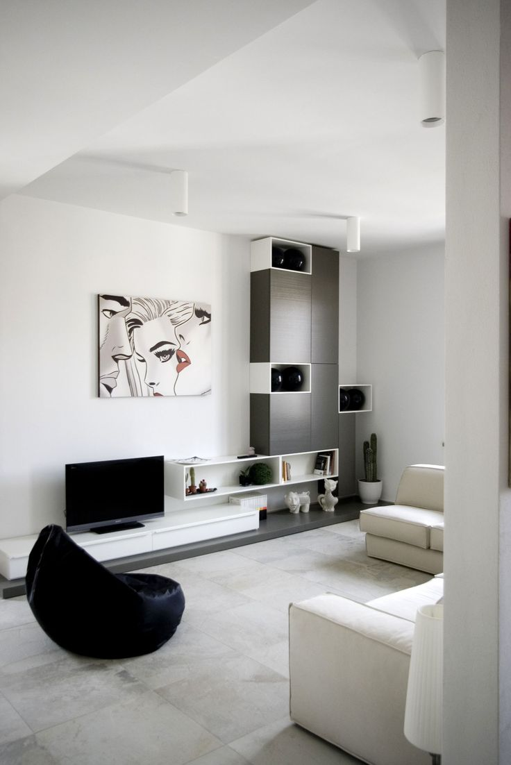 Italian studio msX2 [architettura] has completed the interior design of this apartment located in San Miniato, a town in the region of Tuscany, Italy.