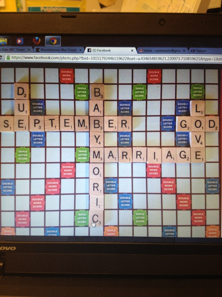 15 Mustsee Were Having A Baby Pins – Scrabble Baby Announcement