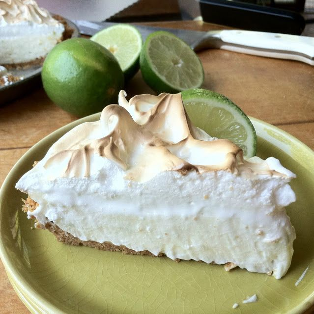 Key Lime Pie - Uses real key lime juice mixed with lemon, no condensed ...