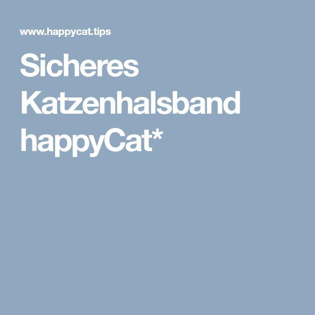Sicheres Katzenhalsband happyCat*