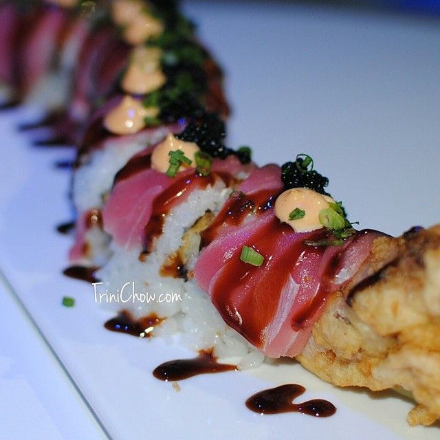 SUSHI IN WEST TRINIDAD LUCE (Port of Spain) – Located at the Hilton Trinidad with an absolutely fantastic view, LUCE offers up a wide range of rolls including our favorites, theShrimp-Oh-Shr…