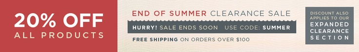 20% Off all Scrubs during our End of Summer Sale.  Lowest prices of the year on all products at NW Scrubs, including Clearance items!