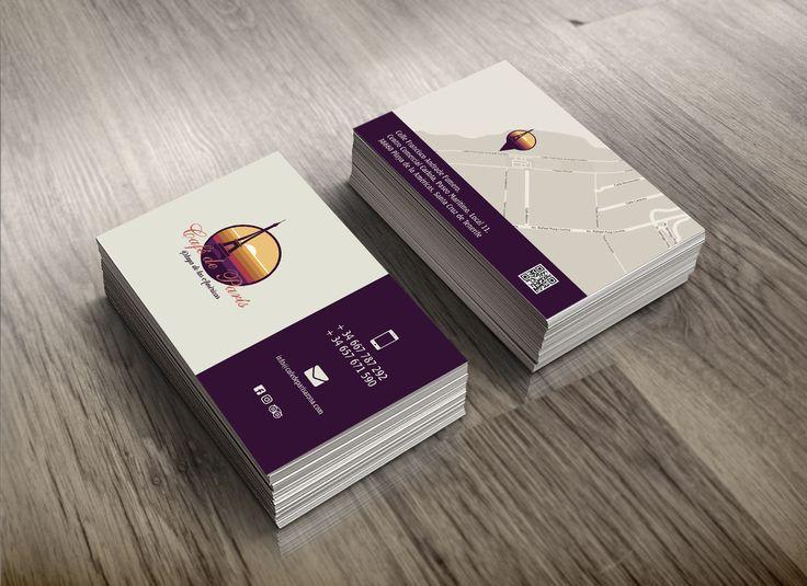 Trabajo realizado para la cafetería Café de París #tarjetasdevisita #diseñográfico #estudiodediseño #bussinesscards #graphicdesign