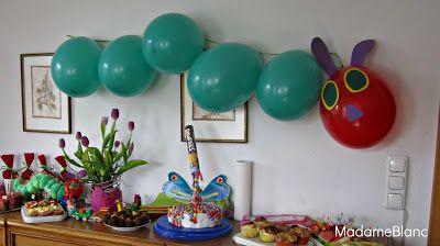 Familienfreitag - Raupe Nimmersatt Geburtstag