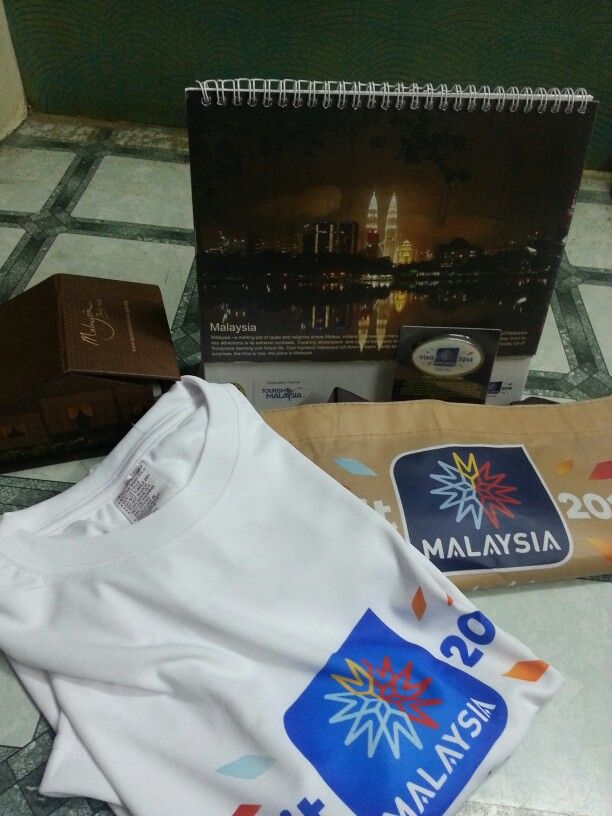 Won goodies for Malaysia Jao contest