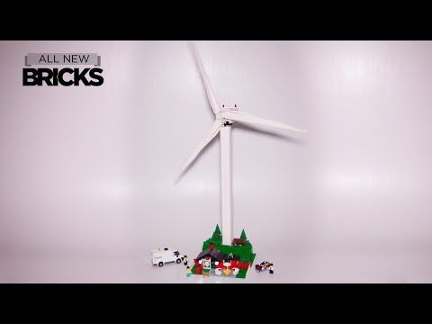 Lego Creator Expert 10268 Vestas Wind Turbine Speed Build - YouTube