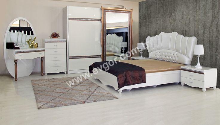 Yatak Odaları > http://evgor.com.tr/K161,yatak-odalari.htm > Country Yatak Odaları > Fiyonas Avangarde Yatak Odası #evgor #bedroom #yatakodasi