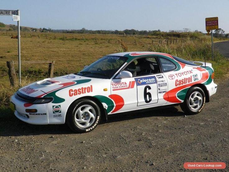 1993 WRC Toyota Celica ST185 GT4 Group A Castrol replica #toyota #celica #forsale #australia