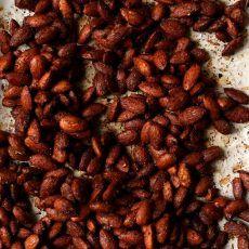 Maple Tamari Roasted Almonds | Joy the Baker