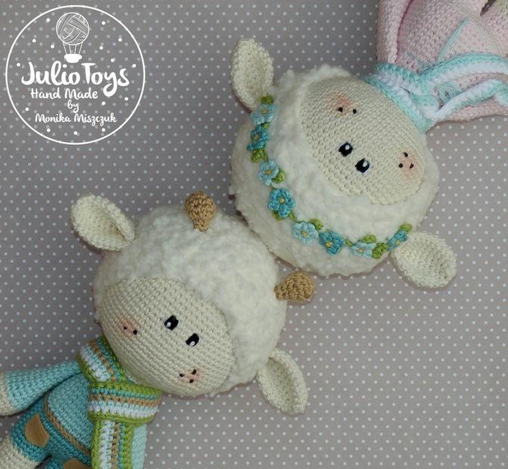 crochet sheeps by Julio Toys https://www.etsy.com/shop/JulioToys?ref=hdr_shop_menu