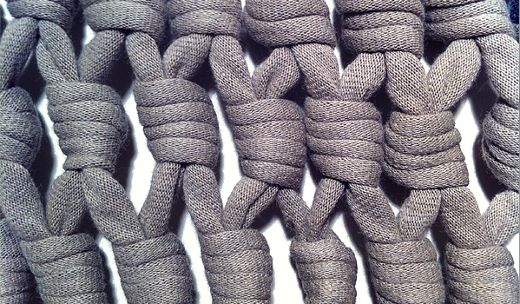 nudos con trapillo