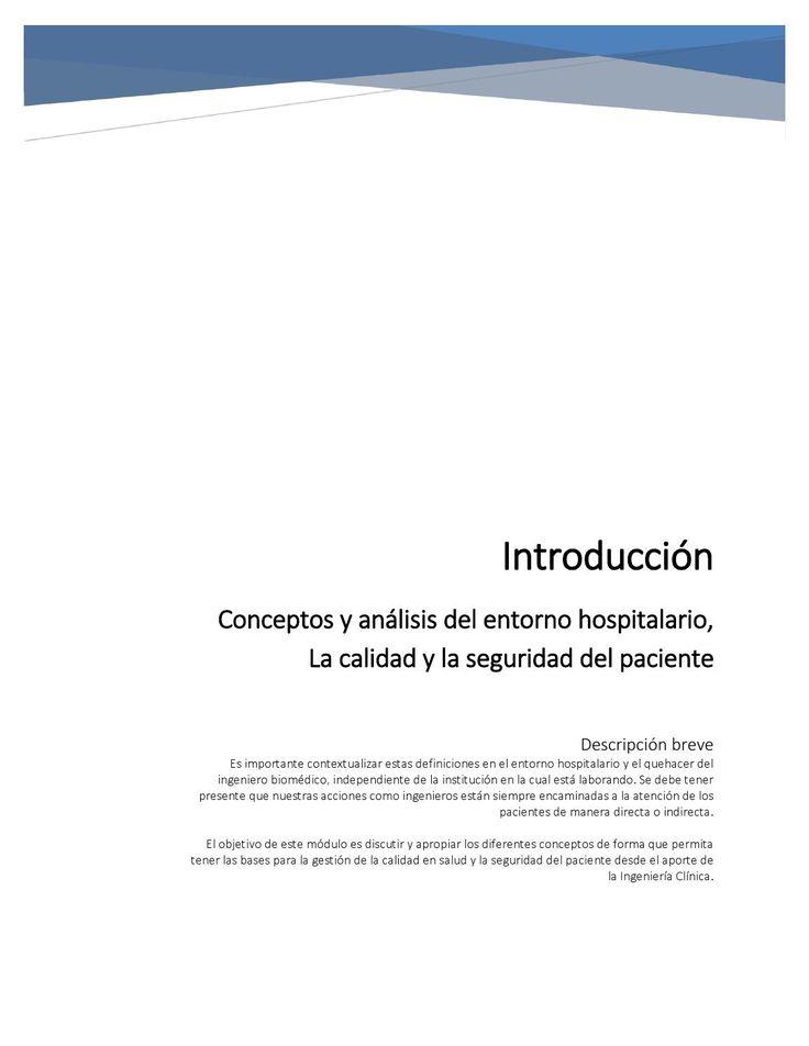 Entorno Hospitalario - Módulo 1