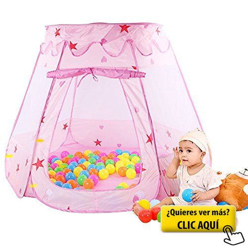 Parque de Bolas Infantil Niñas Princesa Bebe, SKL... #parque