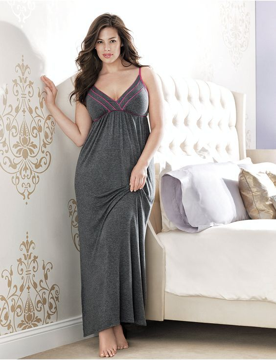 Plus size women often consider shopping for sleepwear as a frustrating experience. It is because most plus size women feel that they need to hide their flab, and an exposed garment will make them look unattractive.