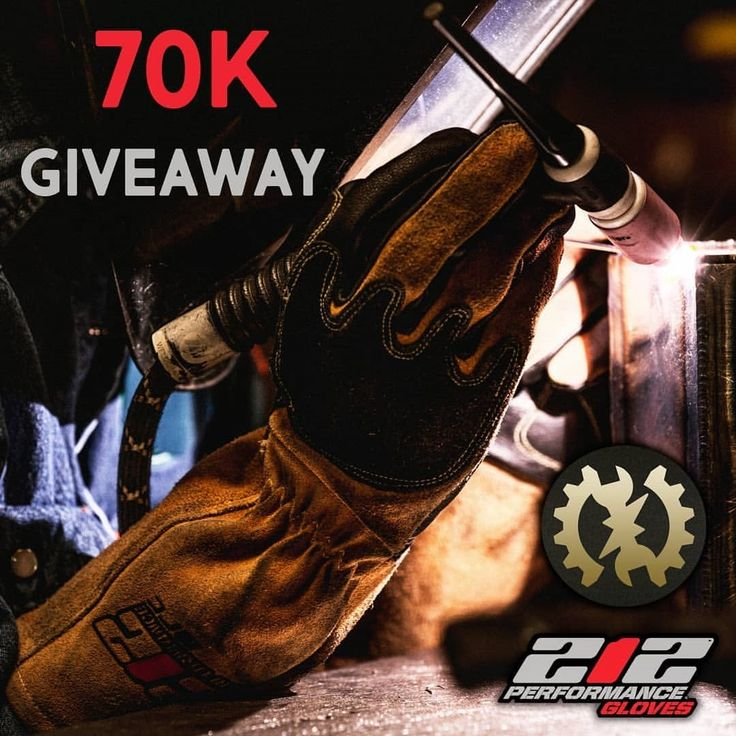 70k GIVEAWAY  Thank you guys again for following this channel  As a thank you 5 lucky winners will each receive a pair of premium 212 performance TIG welding gloves How to participate: 1. Follow @mechanical_engineering_era 2. Follow @212gloves 3. comment down below how you are gonna use those gloves  If you tag a mate you increase the chance of winning!  Winners will be announced on March 9th  ---------------------------------------------- Follow us to get daily information about mechanic…