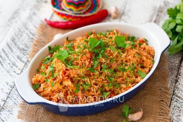 Рецепт мексиканского красного риса
