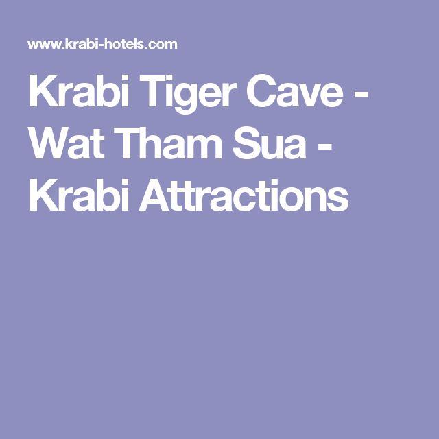 Krabi Tiger Cave - Wat Tham Sua - Krabi Attractions