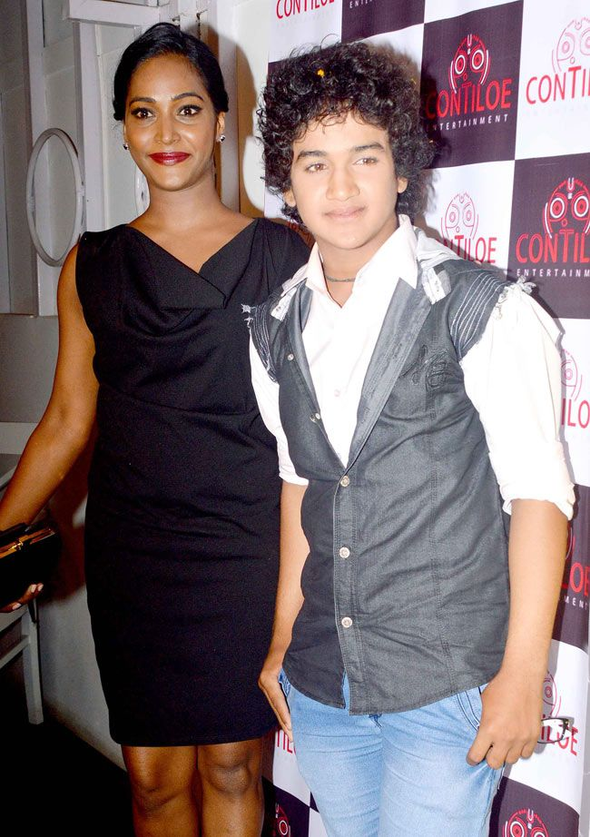 Faisal Khan with Rajshree Thakur at the 'Maharana Pratap' 200 episodes completion bash. #Style #Bollywood #Fashion #Beauty