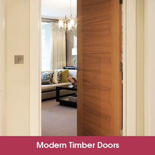 Adding a modern timber door to your property, whether you're a tradesman or a homeowner, can revitalize an interior creating a better living area.