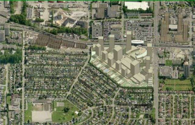 Brentwood town Centre redevelopment