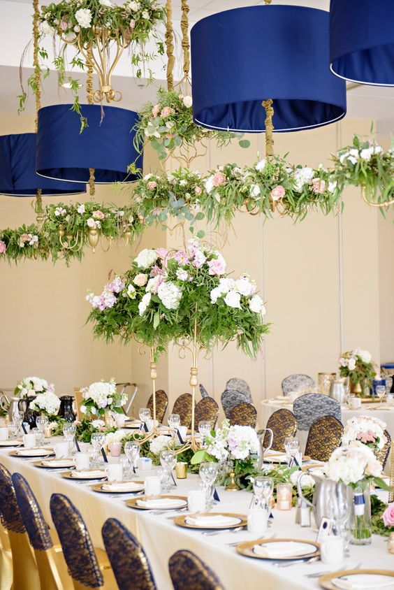 1266 best event decor images on pinterest flower for Wedding reception centrepieces