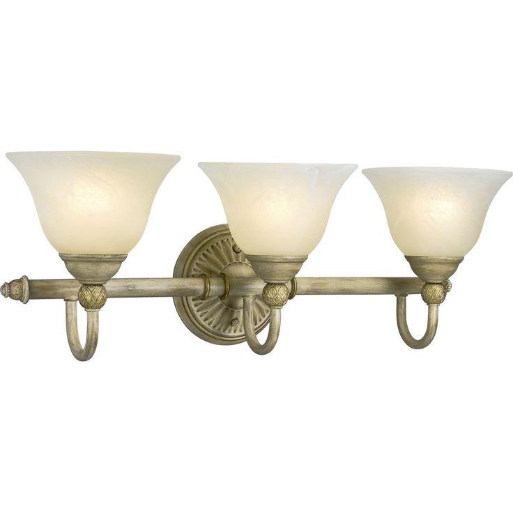 Progress Lighting Bronze 3-light Bath Bar Light Fixture