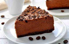 Диетический шоколадно-кофейный десерт. Без муки и без глютена.