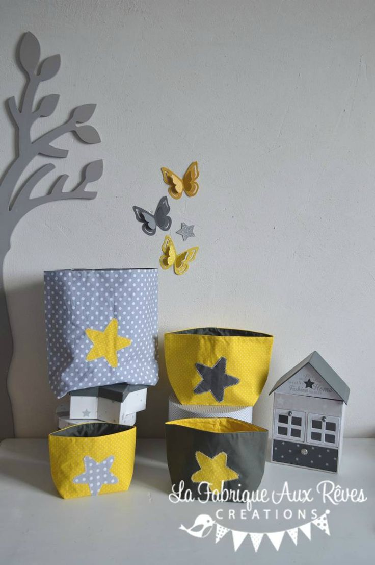 42 best d coration chambre enfant gris et jaune images on pinterest baby room grey gray and for Decoration chambre bebe jaune et gris