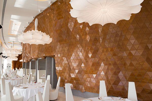 Reign Restaurant on Behance #materials #freeform #organic #parametric #wood #flexible #design #innovation #digital #architecture #cladding #startup #dubai