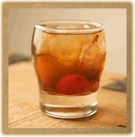 UMAMIcatessen Back Bar   Manhattan Recipe by Templeton Rye