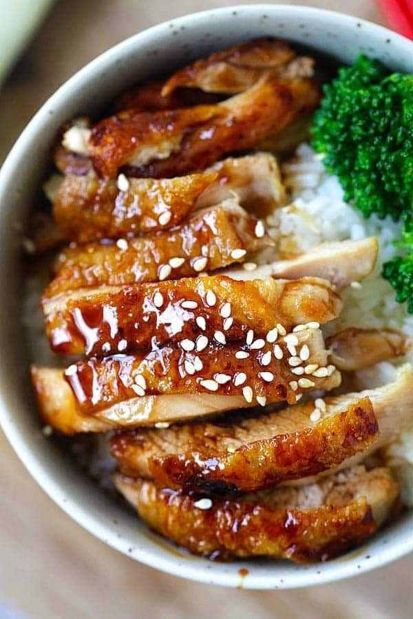 Chicken Teriyaki – learn how to make teriyaki sauce plus chicken teriyaki that taste like the best Japanese restaurants. So easy and so good | rasamalaysia.com