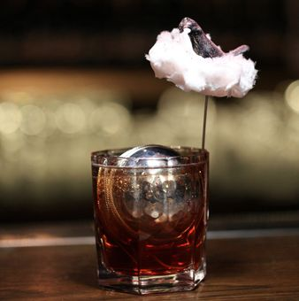 Toronto with a Cotton Candy Garnish at Nightjar, London