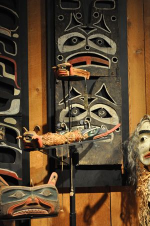 Visit U'mista Cultural Society in Alert Bay a short ferry ride from Port McNeill, BC