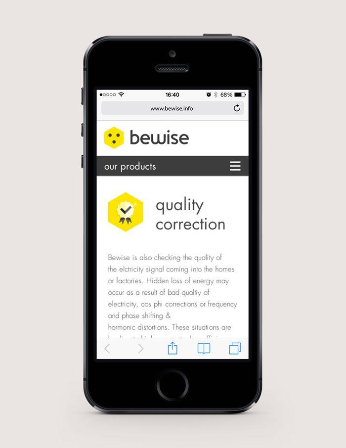 Bewise - Responsive website   by Skinn Branding Agency