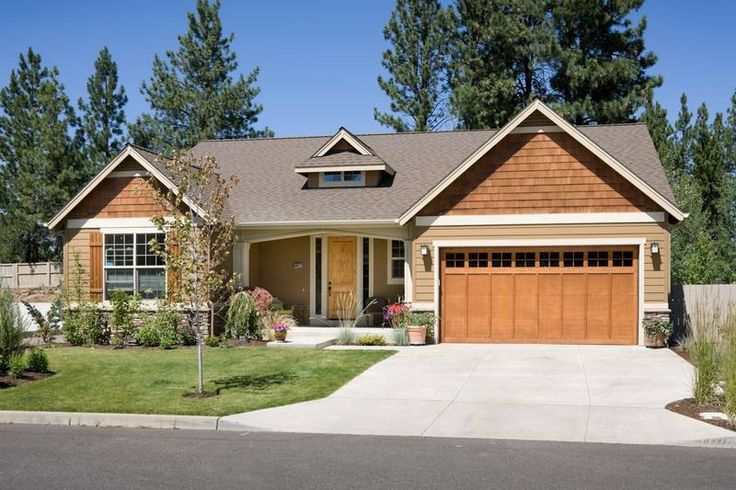 40 best images about craftsman style house plans on for Craftsman house plans one story with basement