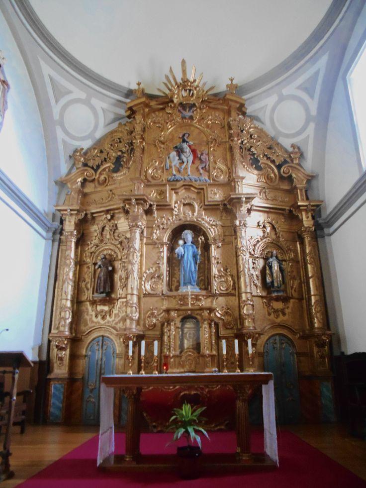 Convento de Santa Isabel e Iglesia de San Martín. Retablo Mayor