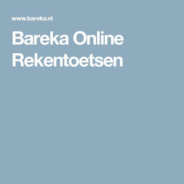 Bareka Online Rekentoetsen