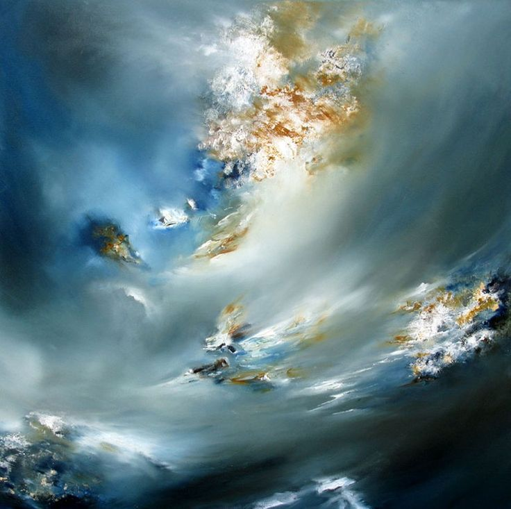 "Saatchi Online Artist: Alison Johnson; Oil, Painting ""Flight of Fancy"""