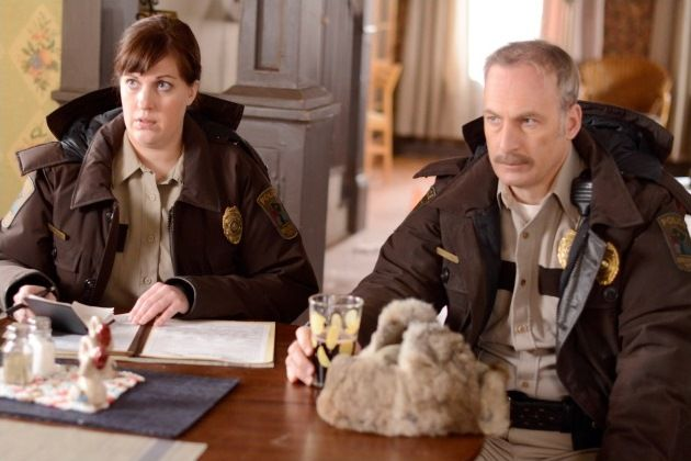 Fargo TV Show On FX episode two - Lester | Molly and Bill talk to Lester, while drinking grape juice. Lester said I got a concussion, Doc said if my brain swelled up it would leak out of my ears! Bill asked what was that gum?