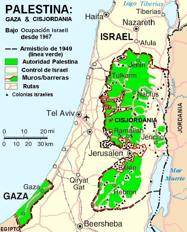 Mapa Completo De Palestina Actual Buscar Con Google Mapas