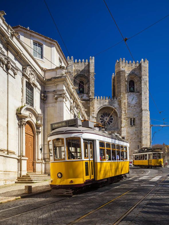 Lisbon review: Escapes the winter blues with a trip to the sunny Portuguese capital | Via Express.co.uk |4/02/2018 IT'S A SUNNY morning in Lisbon and I'm strolling across Rossio Square, admiring its elegant baroque fountain and the play of light on grey-and-white mosaic paving stones. #Portugal