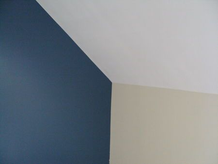 Peintures bleu baltique et blanc ivoire