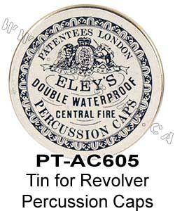 Marstar Canada - Tin for Revolver Percussion Caps (PT-AC605)