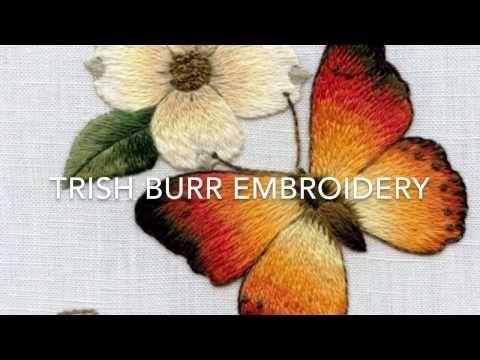 Long & Short stitch shading part three by Trish Burr - YouTube