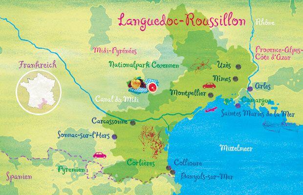 Südfrankreich: Languedoc-Roussillon: Salut, unbekannter Süden! - BRIGITTE