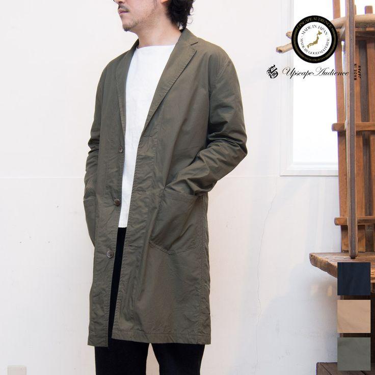 2016年2月26日【 Web Store 更新 】  Upscape Audience 馬布エンジニア3ボタンチェスターコート [ http://www.aud-inc.com/product/2358 ]  #コート #高円寺 #チェスター #3ボタン #馬布 #チェスターコート #エンジニア #春 #アウター #メンズ #mens #東京 #style #fashion #NowAvailable #webstore