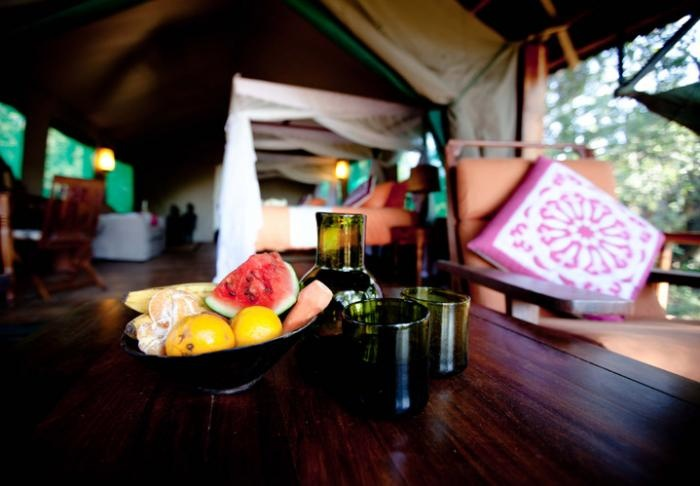 #Healthy bites in the #comfort of your tent | Holidays in Tanzania | Mbali Mbali Lodges and Camps