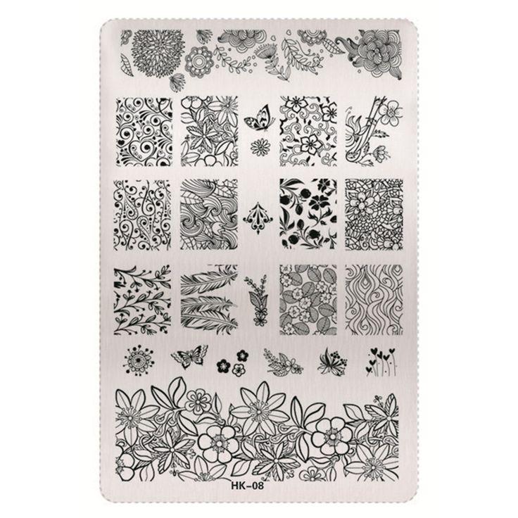 64 best Nail Art Templates images on Pinterest | Nail art designs ...